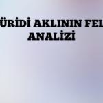 MATÜRİDİ AKLININ FELSEFİ ANALİZİ